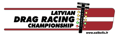 2016 Latvia Drag Racing championship logo 500