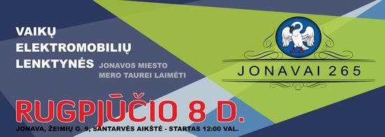 banner minidrag 2015 Jonava be registracijos 550