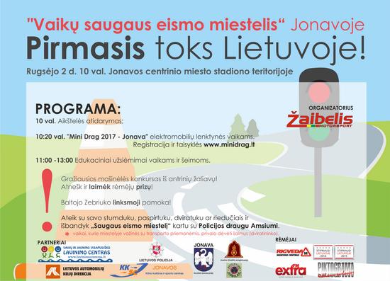 2017 saugaus eismo miestelis plakatas 550